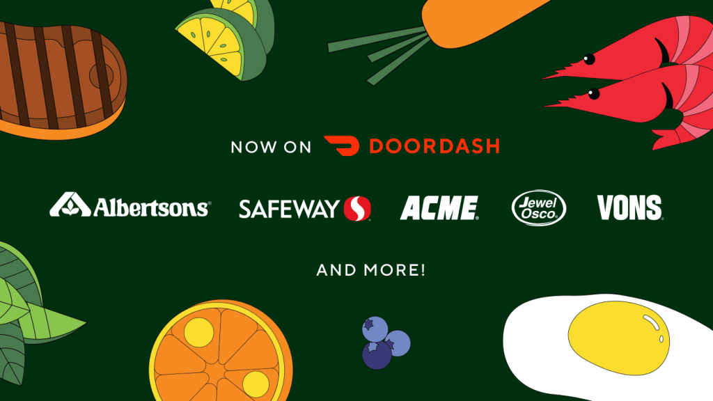 DoorDash and Albertsons Companies Partner to Launch Unprecedented Access to On-Demand Grocery Delivery